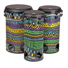 "GMP Set of 10""(25cm), 12""(30cm) and 14""(35cm) Tubolo Drums, - TUBO SET 17C"