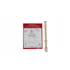 AULOS  E303A 3-piece recorder + Windsongs book 3  - AWE-3033