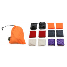 Set of 12 Textured Bean Bags BPC2011