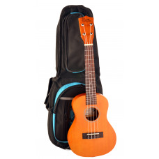 Concert tuning peg ukulele with padded bag - CL500B