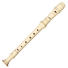 AULOS 3-piece German-fingering soprano recorder - E302A