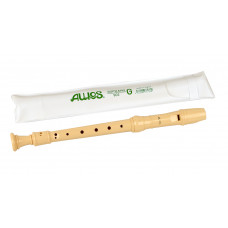 AULOS 3-piece German-fingering soprano recorder - E902