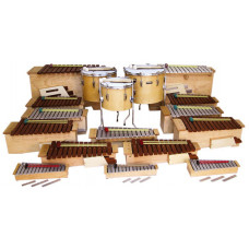 EMUS 17-piece basic Orff set - ESS-350