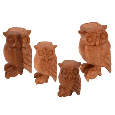 Owl Family set of 4 Whistles - G-OWL3456