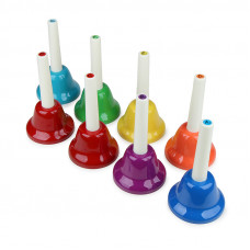 EMUS 8-note junior handbell set - JHB-8