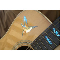 Large Hummingbird decal - JIS-116