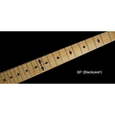 Fret marker decals for Guitar - Checker in Pearly Black - JIS-78