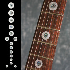 Fret marker decals for Guitar - Eyeballs - JIS-89