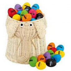Set of 80 assorted colour Nino egg shakers - N540-802
