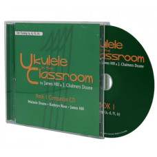 Ukulele in the Classroom book 1 CD  - D6 Tuning - Q01CD-D6