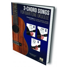 3-CHORD SONGS for Baritone Ukulele - Q156008
