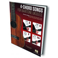 4-CHORD SONGS for Baritone Ukulele - Q156009