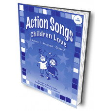 Action Songs Children Love Volume 1 with CD - Q471