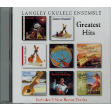 Langley Ukulele Ensemble: Greatest hits CD - QLU11