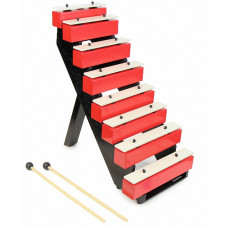 SUZUKI 8-note step-bell set with ladder - SSB-8