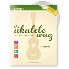 The Ukulele Way book 1 D6 tuning - JHUW1-D